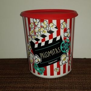 NEW TUPPERWARE POPCORN CANISTER